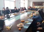 学校召开2014年度老干部工作座谈会